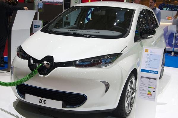 Orange Electric Car Expo 2020