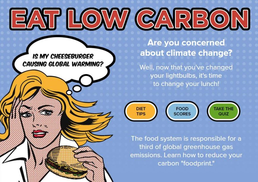 Eat low carbon
