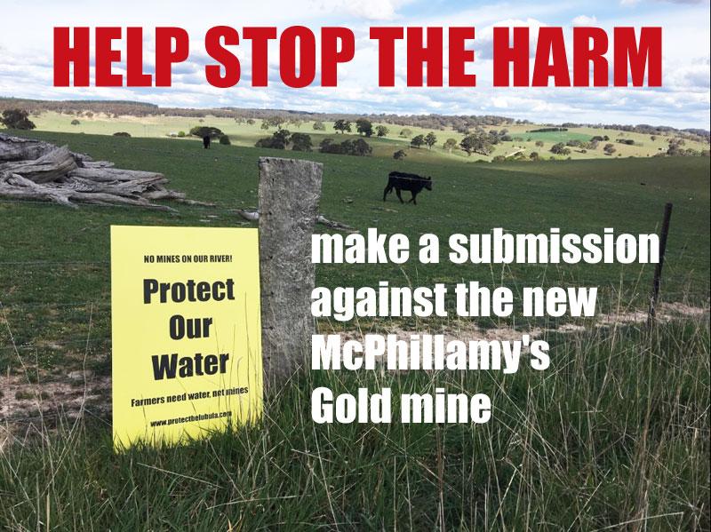 STOP the McPhillamy's Gold mine